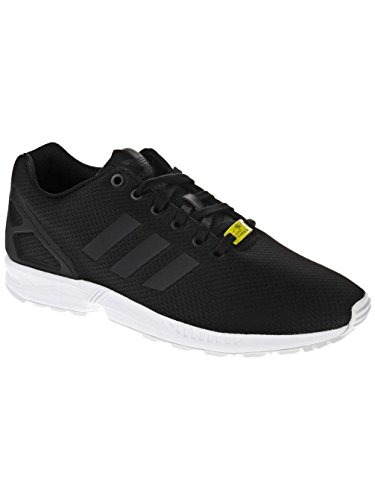 Adidas Mens Zx Flux, Nero / Nero / Bianco, 9,5 M Us