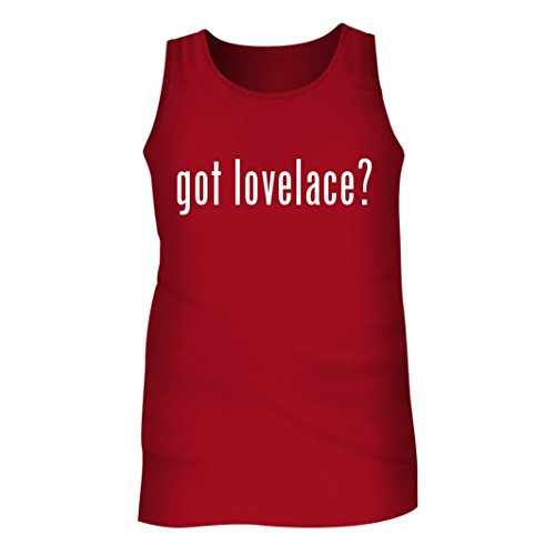 Tracy Gifts Got Lovelace? - Men's Adult Tank Top, Red, (Lovelace Top)