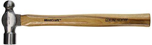 - MINTCRAFT JL21275 Ball Pein Hammer Wood, 24-Ounce