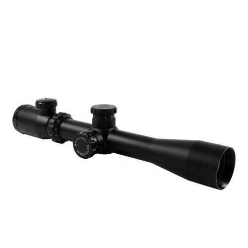 AIM Sports 2.5-10x40 XPF Riflescope, Matte Black with Dual-Illuminated Rangefinder Reticle, Side Parallax Adjust, 30mm Tube. (Aim Sports 3 9x40 Dual Illuminated Scope)