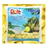 Dole Individual Quick Frozen Chunk Pineapple, 5 Pound - 2 per case.