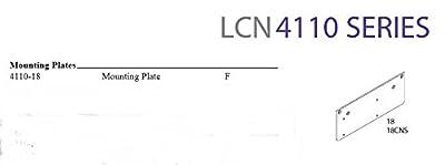 LCN Smoothee 4111 LH EDA/G Alum Finish Door Closer Heavy Duty Parallel Arm Adjustable