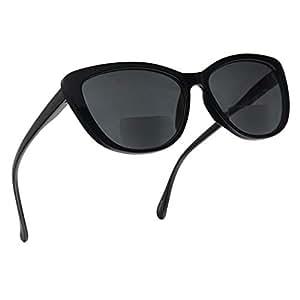 Amazon.com: Gafas de sol para mujer, diseño de ojos de gato ...