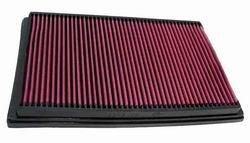 K&N ENGINEERING 33-2176 Air Filter; Panel; H-1.125 in.; L-8.313 in.; W-12.75 in.;