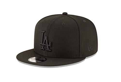 New Era 9Fifty Hat Los Angeles Dodgers Basic Black/Black Snapback Adjustable Cap