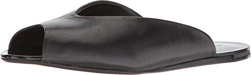 Donna Karan Women's Zuzu Mule Black Nappa Leather 9.5 M US
