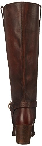 de FRYE botas Knotted 76128 Tall Malorie equitación Redwood Mujer RFZTX
