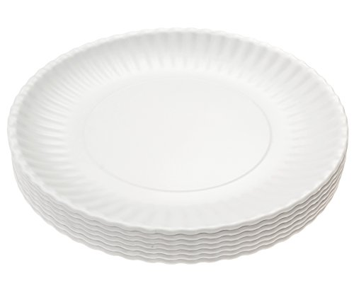 "Picnique Reusable Paper Plate - 9"" Picnic & Dinner Melamine"