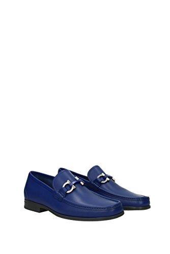 Salvatore Ferragamo Men's Loafer Flats * Blue