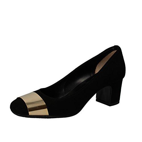 ALBANO - Zapatos de vestir de ante para mujer negro negro