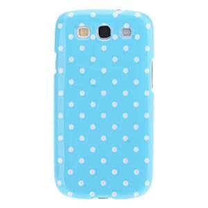 Conseguir Polka Dots Pattern Hard Case para Samsung I9300 Galaxy S3