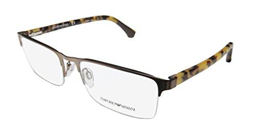 Emporio Armani EA 1028 Men's Eyeglasses Matte Bronze - Emporio & Co