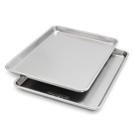 Nordic Ware Naturals for Sur La Table Half-Sheet Pans 43114SLT, Set of 2