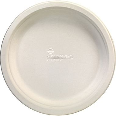 Sustainable Earth By Staples Compostable Plates and Bowls