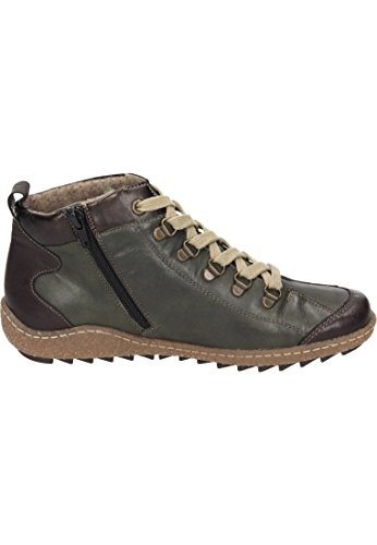 Remonte Womens Waterproof Ankle Boots R4779-52 Green Combi 3F5HrsIna