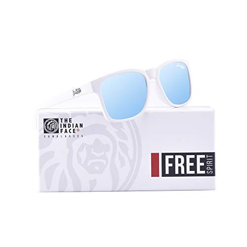 Gafas Free FACE 55 Spirit THE Unisex de White INDIAN Sol 5EqWcX