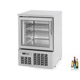 Mini congelador profesional 95 litros - 100% acero inoxidable ...