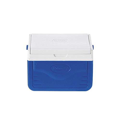 Coleman FlipLid Cooler, 5 Quart , Blue