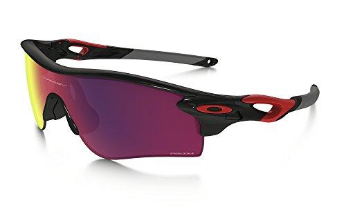 Oakley Radarlock Path Alt Fit Sunglasses Pol BLK/Red/Prz Road & Care Kit - Radarlock Prizm