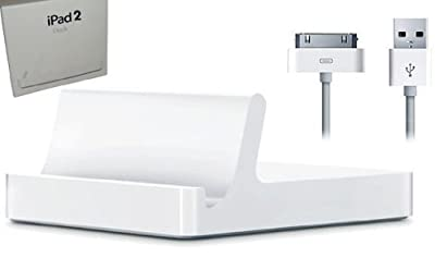 iPad 2 Dock Station White Sync or charge your iPad2 directly by EPG