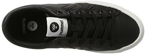 Hummel Deuce Court Tonal, Unisex Adults' Low-Top Sneakers Black (Black)