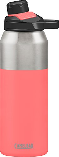 CamelBak Chute Mag Stainless Water Bottle, 32oz, Coral