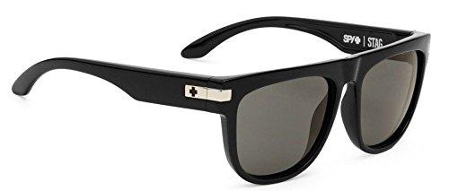 Spy Optics Stag Black - Grey Round Sunglasses,Black,58 - Kids Sunglasses Spy