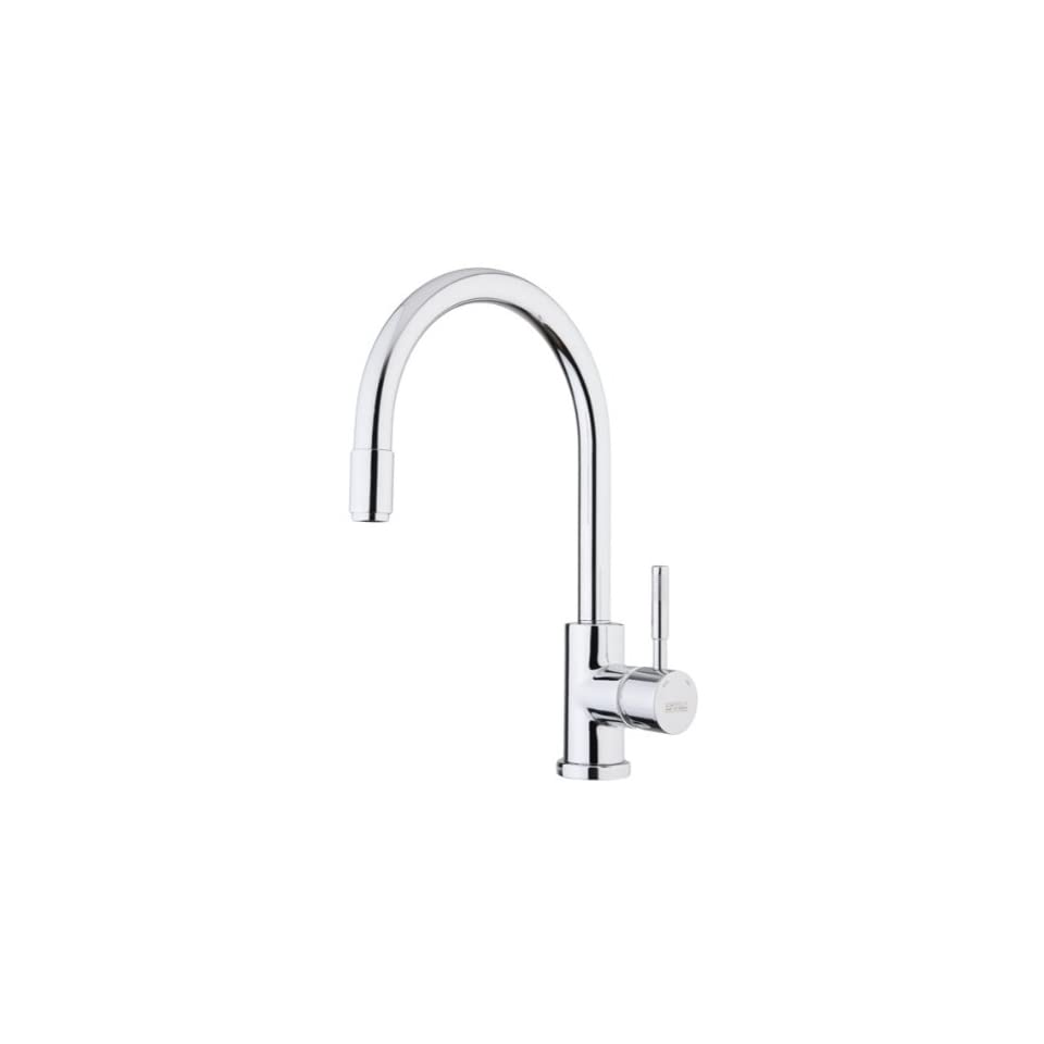 Fiore 44CR5489 One Hole Polished Chrome Kitchen Sink Faucet 44CR5489