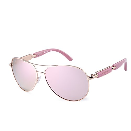 Fenchi Classic Aviator Sunglasses For Women Men Metal Mirrored Lens Driving Fashion Sunglasses - Women Whose Sunglasses For