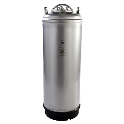 ASI 5 Gallon Ball Lock Keg NSF Metal Strap