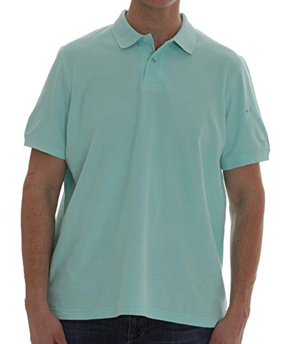 Whiskey and Oak Classic Fit Short Sleeve Polo Shirts for Men 15930-MNT-3XL Mint Combed Cotton Pique Golf Shirt