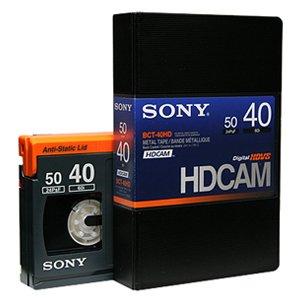 SONY BCT-40HD HDCAMテープ スモールカセット 40分 1本