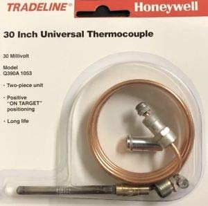 THERMOCOUPLE 30 INCH HONEYWEL REPLACEMENT FOR BOILERS, FURNACES, WATER HEATERS.