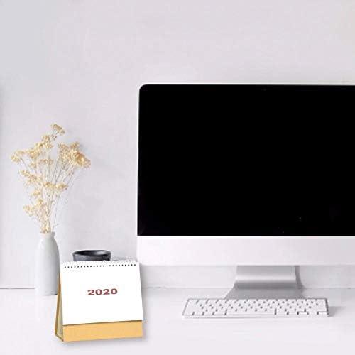 Pictury 2020 Tischkalender Einfacher Stil Tischkalender Tischkalender Jahr 2019-2020 Für Home-Office-Schreibtische approving