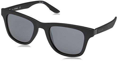 Columbia Men's by The Bluff Square Sunglasses, Matte Black, 50 - Lens Columbia Black