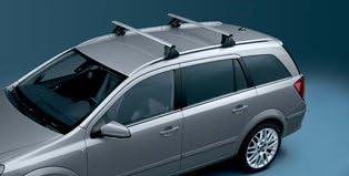 Original Opel Astra H Caravan Dachträger Basisträger Für Fahrzeuge Mit Dachreling 1732598 Auto