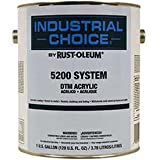 Rust-Oleum 5200 System < 250 Voc Dtm Acrylic, Machine Tool Gray Gallon Can - Lot of 2