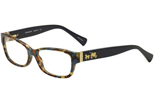 Amazon.com: Coach Women\'s HC6078 Eyeglasses Black/Ivory Wild Beast ...