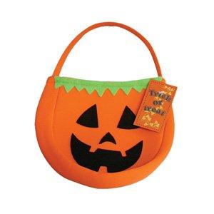 Beautiful Halloween Trick Or Treat Bag Pumpkin