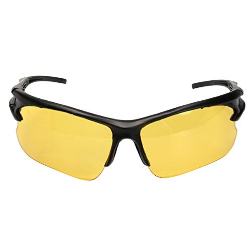 (Anti Glare TAC Driving Yellow Lens Sunglasses Night Vision Polarized Glasses - Hardware & Accessories Industrial Hardware - #1-1 x Driving Glasses -)