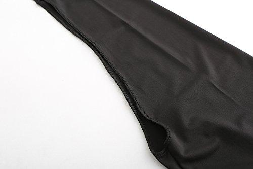 Women Lightweight Shrugs Sun Protection Cooling Shawl Tumble Hole Cycling,Golf (Black) by Rgslon (Image #7)