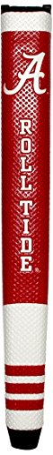 Team Golf NCAA Alabama Crimson Tide Golf Putter Grip with Removable Gel Top Ball Marker, Durable Wide Grip & Easy to Control