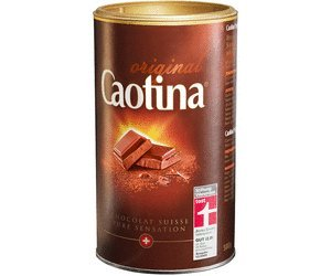 Caotina Classic Original Switzerland, 4 Packages Total 2 Kilograms, Chocolate Suisse Pure Sensation