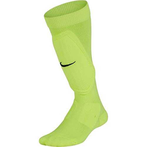 Nike Youth Shin Sock (Volt/Black, L/XL)