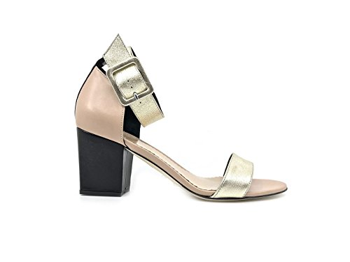 Cuero para Mujer Vestir Sandalias Seller Platinum The de de ZxXqzxfn