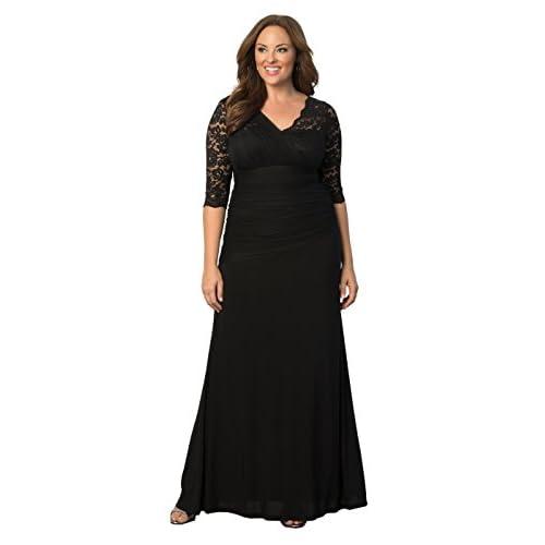 2beb0899b6f 60%OFF Kiyonna Women s Plus Size Soiree Evening Gown - rytoj.lt