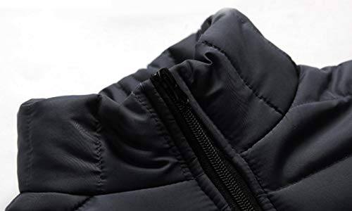 Jacket security Winter Coat Light Packable Men's Puffer Down Down Pillow Quilted Ultra Black Coat Outdoor 88Aqw4npr
