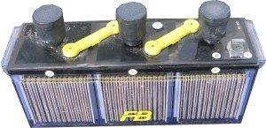 古河電池HS-40-6E 触媒栓付 HS40-6E 6V40Ah【メーカー直送】 B016IK74ZE