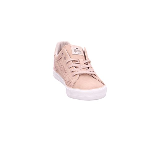 Femme Sneakers 555 555 306 1267 Mustang rose Basses Rouge Zq7SSF