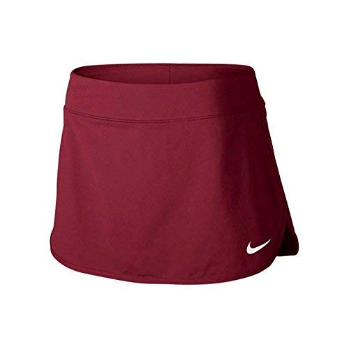 Nike Court Pure Women's Tennis Skirt (MD x 7', Team Red/White) by Nike (Image #1)
